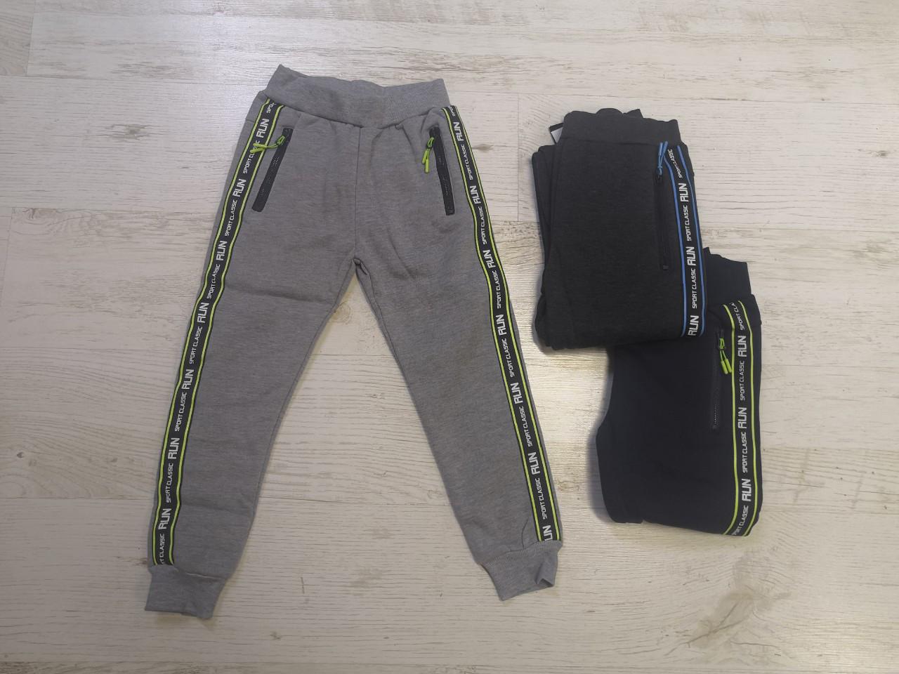 Спортивные брюки утепленные для мальчиков MR.DAVID 116-146 рр