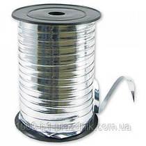 Лента серебро  бобина