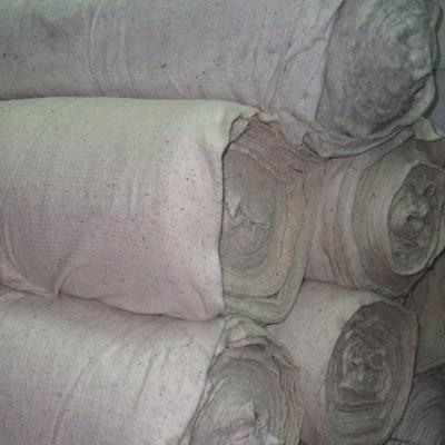 Полотно нетканое  3 с грязное х/б 1.4 м Узбек