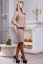 Женское платье с воротником жабо (2460-2462-2463-2464 svt), фото 3