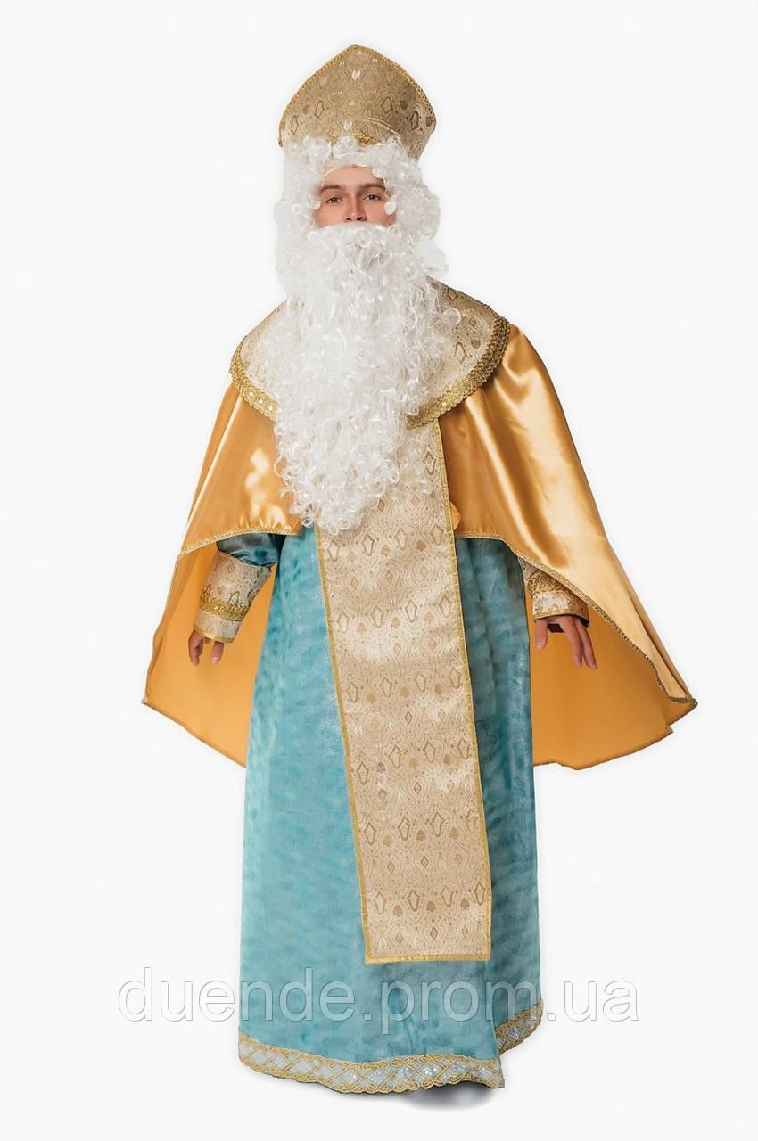 Святой Николай Люкс мужской карнавальный костюм