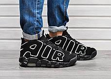 49c1a5e0 Мужские кроссовки в стиле Nike Air More Uptempo Black\White. Размеры 41-47.
