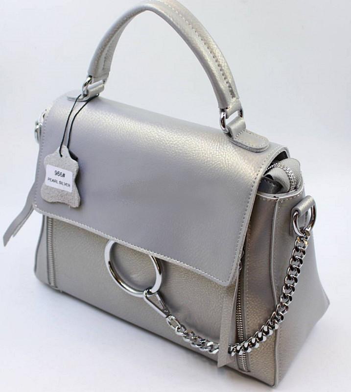 b88c0c434f6d Женский кожаная сумка клатч 966 pearl silver женские клатчи из натуральной  кожи купить недорого