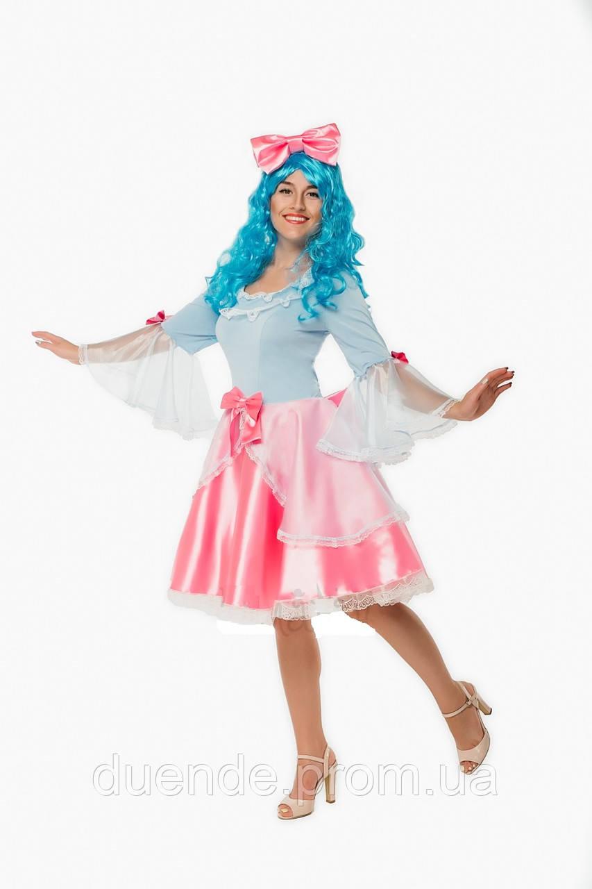 Карнавальный костюм Куклы Мальвины женский
