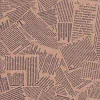 """Крафт-бумага с печатью """"Газета №2"""""""