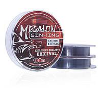 Волосінь BratFishing Megalon Sinking 100м 0,32 мм потопаюча
