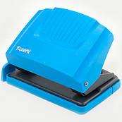 Дырокол Axent Shell 20 л пластик.верх, голубой 3420-07-A
