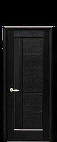 Двери межкомнатные Новый Стиль Грета (Черное стекло) ПВХ DeLuxe, фото 1