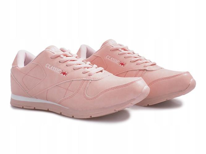 Нежно розовые женские кроссовки, фото 1