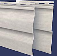 Фасадные материалы Двойная корабельная горизонтальная