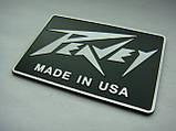 Шильдик, наклейка, логотип  75x50mm (metall) на сетку колонки Peavey, фото 2