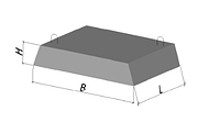 Фундаменты ленточные (ФЛ) 8.24-4