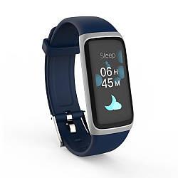 Фитнес браслет с цветным экраном BY22S Black/blue/silver.
