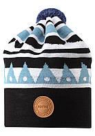 Демисезонная шапка-бини для мальчика Reima 528591-7781. Размеры 48/50, 52/54 и 56/58.