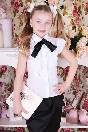 Школьная блузка на девочку B6, фото 2