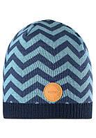 Демисезонная шапка-бини для мальчика Reima 528592-6791. Размеры 48/50, 52/54 и 56/58.
