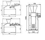 Тестоделитель автоматический вакуумный 960 - 3240 шт/ч, фото 2