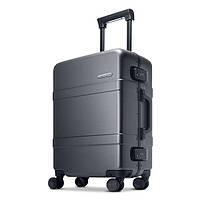 Чемодан RunMi 90 Points Classic Aluminum Box Suitcase Dark Grey Magic Night 33 л Р28836