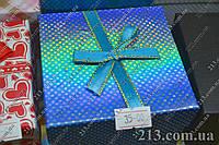 Подарочная коробка для часов с бантиком разные цвета
