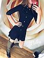 """Платье женское """"Воланчик"""" молодёжное размеры 42-44 купить оптом со склада 7км Одесса, фото 3"""