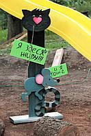 Деревянный декор для дома и сада