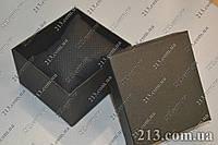 Коробочка для часов с подушкой черная
