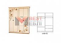 Шкаф 4Д спальни Ванесса