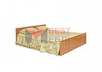 Кровать 160 спальни Ким (СМ) (с ламелями / без матраса)