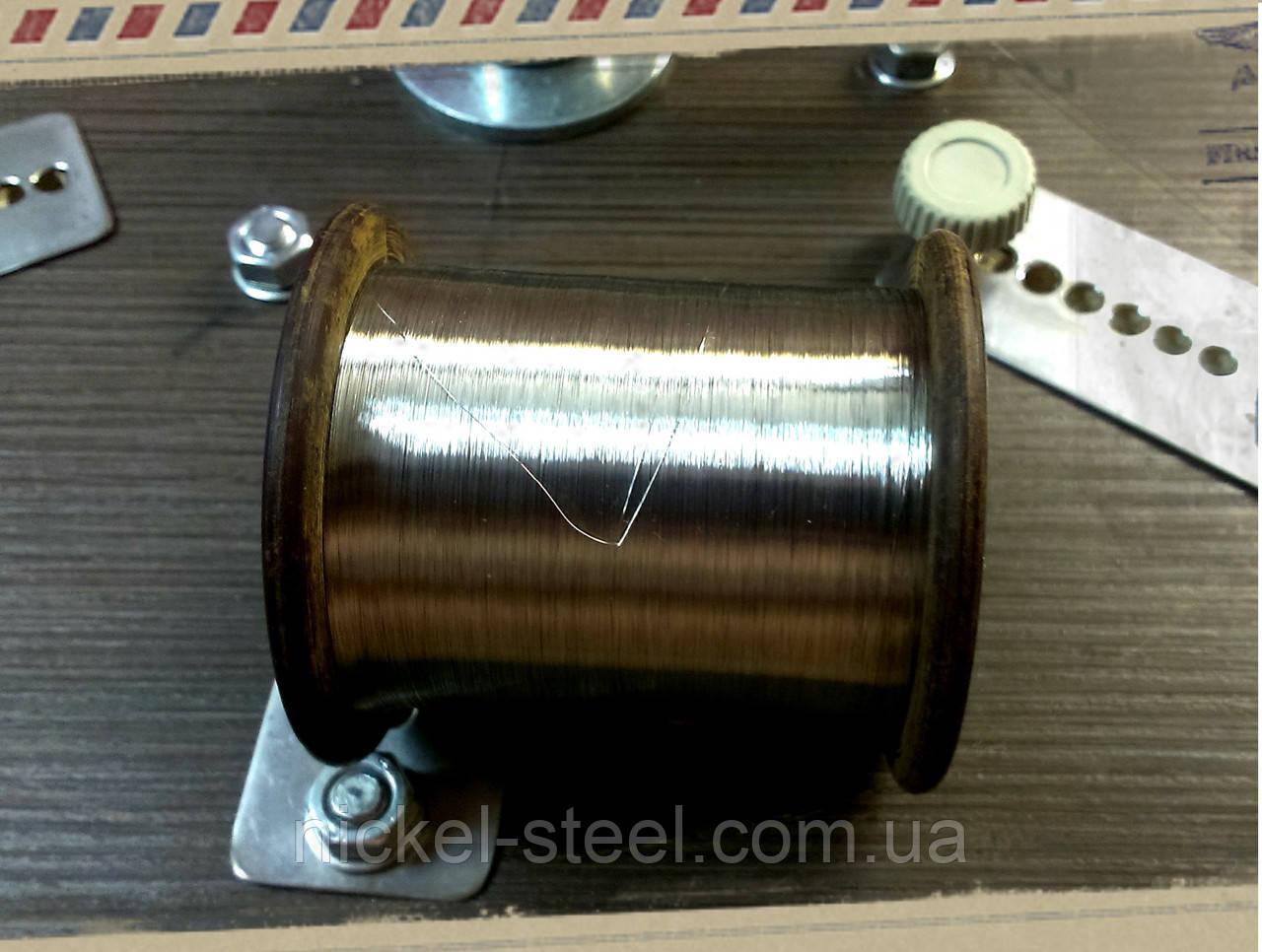 Нить нихромовая 0,1 мм х20н80-н