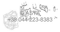 Тяговое устройства в сборе на YTO X1304