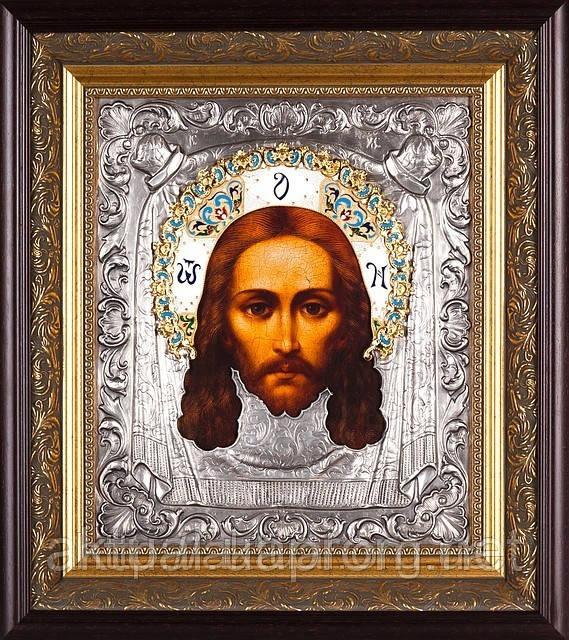 Икона Спас Нерукотворный (эмали)