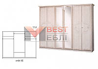 Шкаф 6Д спальни Опера
