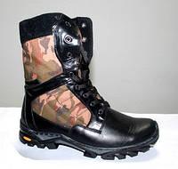 """Кожаные ботинки берцы """"Комо Спорт"""", фото 1"""