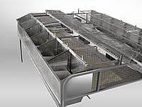 Клетка для кролей маточная  БМ -1 -12 С.