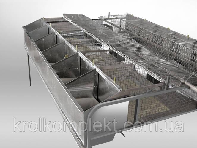 Клетка для кролей маточная БМ -1 -12 С(не комплектуется отбойником ).