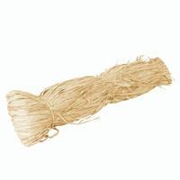 Рафия натуральная, 50 гр., бежевая