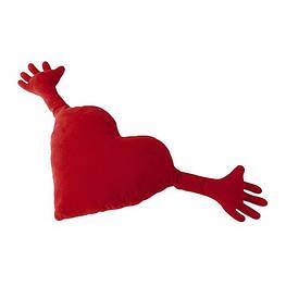 Подушка сердце - обнимашка - сделано в Украине