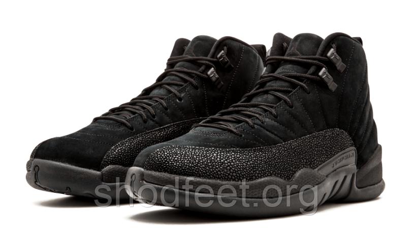 Мужские баскетбольные кроссовки Air Jordan 12 Retro Ovo Black