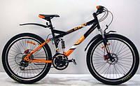 """Горный двухподвесный подростковый велосипед Azimut Race 24"""" GD"""