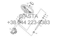 Рулевой механизм в сборе I (нерегулируемый) на YTO X1304, фото 1