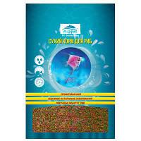 Корм для мелких видов рыб Микс гранулы 300гр*800мл