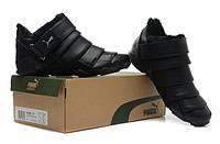 Зимние кроссовки Puma black Р-10028-30