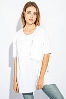 Туника женская свободный крой AG-0005599 Белый
