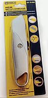 Нож металлический с выдвижным трапециевидным лезвием