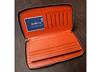 Портмоне Baellerry Leather Model 1 чоловічий гаманець для дешег, карток, телефону, фото 4