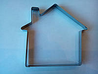 Металлическая вырубка для пряников домик