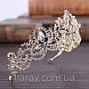 Весільна корона діадема ДАНІЕЛЬ тіара для волосся, діадеми, фото 4
