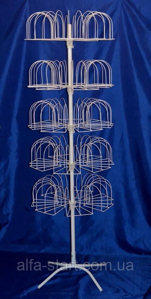 стойка вертушка для продажи вязаных шапок на 105 мест продажа цена