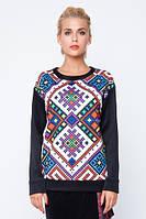 Модний світшот з етнічним орнаментом