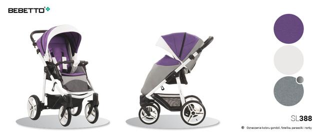 прогулочная коляска бебетто нико